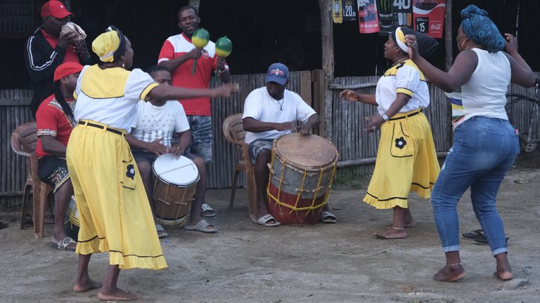 The Garifuna are originally from the island of St Vincent