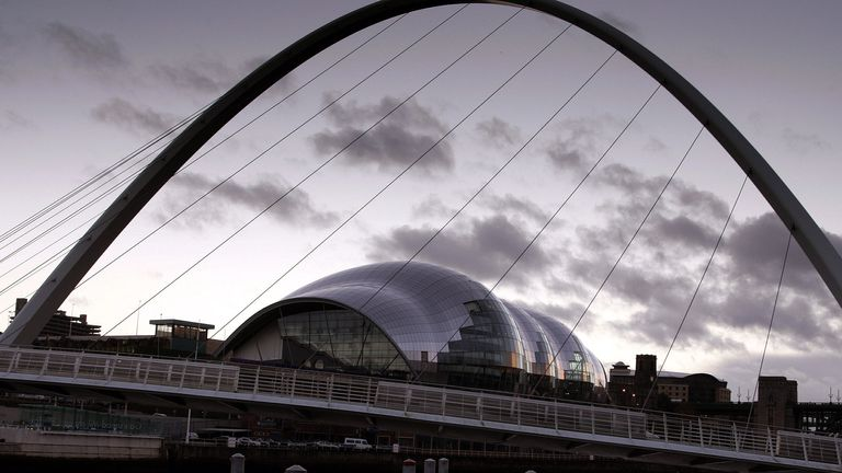 The Sage Gateshead. File pic