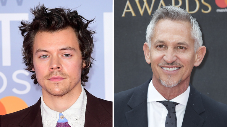 Harry Styles and Gary Lineker are among the nominees at this year's British LGBT Awards
