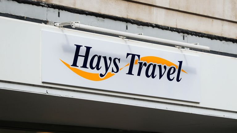 Hays Travel, Nottingham City Centre 11/9/2020