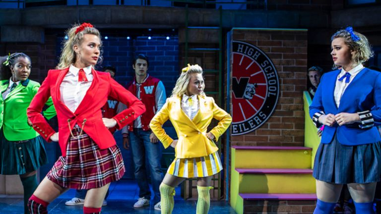 Heathers (seen here during its 2018 run) will return to the West End. Pic: Pamela Raith