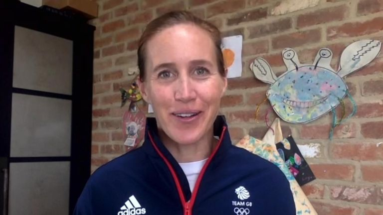 Two-time Olympic gold medal winner - Helen Glover