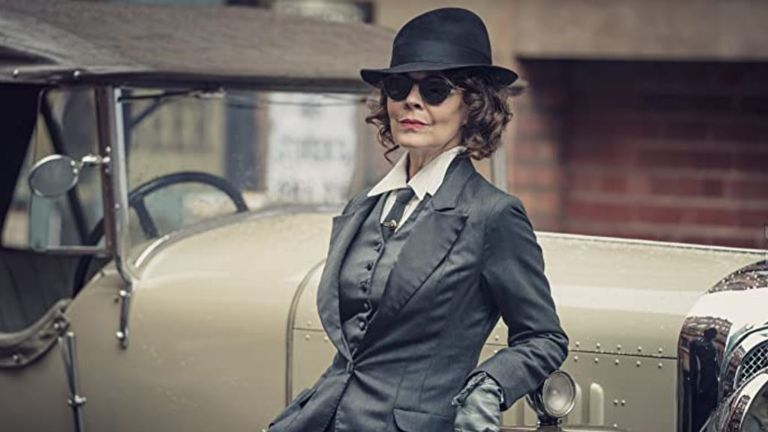 Helen McCrory as Polly in Peaky Blinders. Pic: BBC