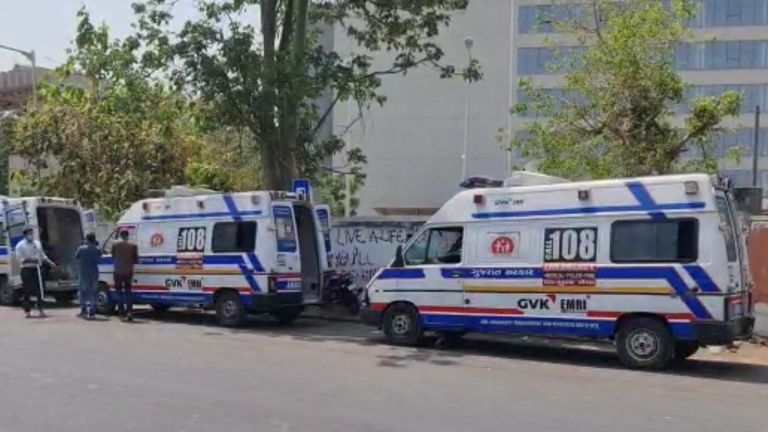 Ambulance queuing in India