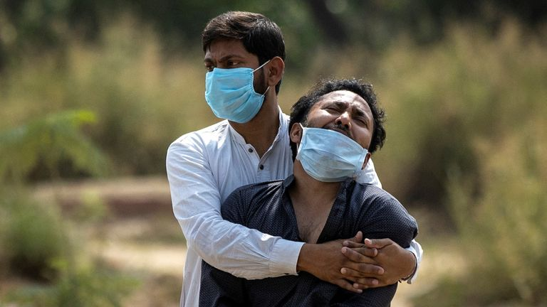 According to official figures, Delhi recorded over 17,000 coronavirus cases on 14 April