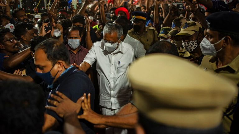 There have also been concern over safety at rallies for India's state elections
