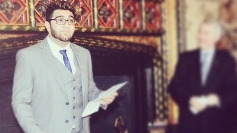 Inzy was invited to give a speech at St James' Palace