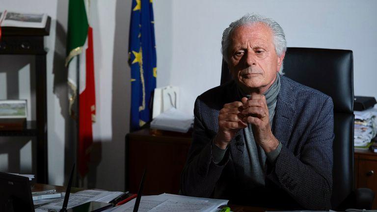 Chief prosecutor Chiappanni. Italy lockdown