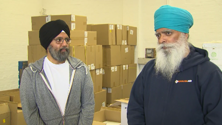 (L-R) Jas Singh and Ravi Singh