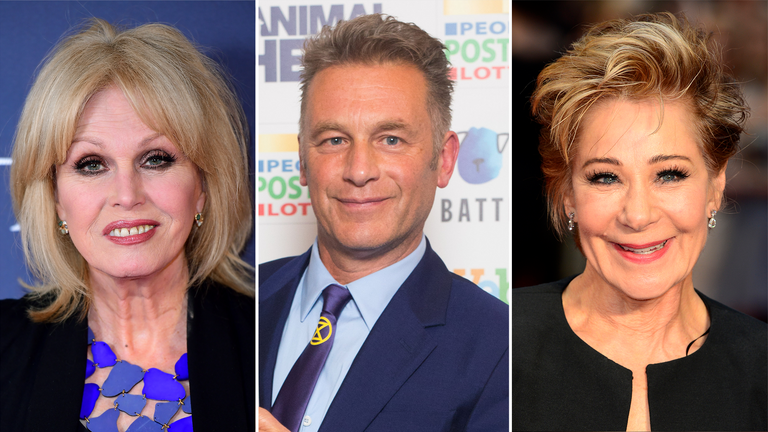 Joanna Lumley, Chris Packham and Zoe Wanamaker are all backing the campaign