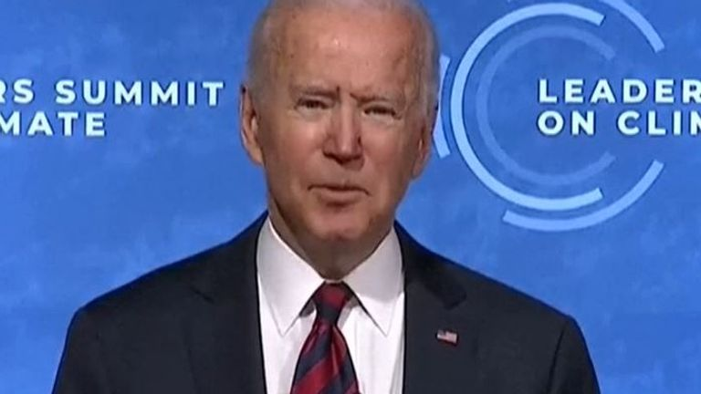 Joe Biden hosts climate summit of world leaders