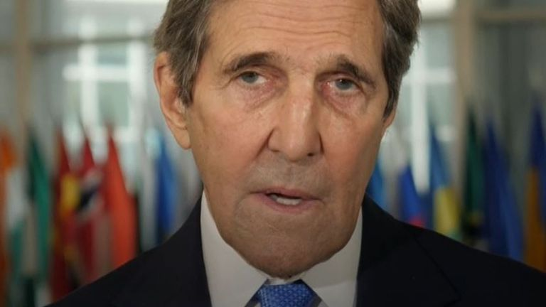 John Kerry says countries are not doing enough to combat climate change