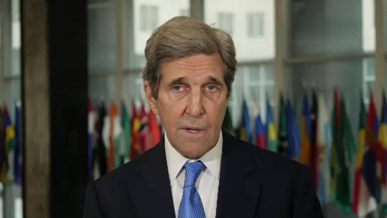 US envoy John Kerry