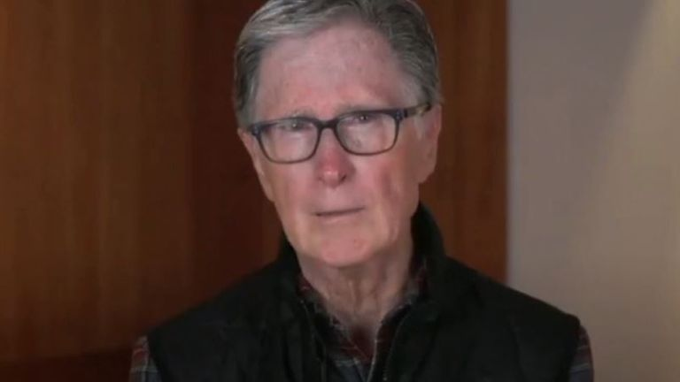John W Henry issues video apology over Super league plans