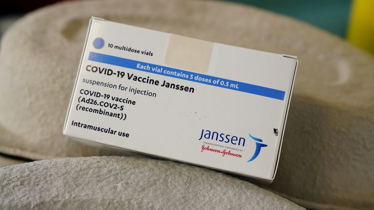 The vaccine is also known as the Janssen vaccine