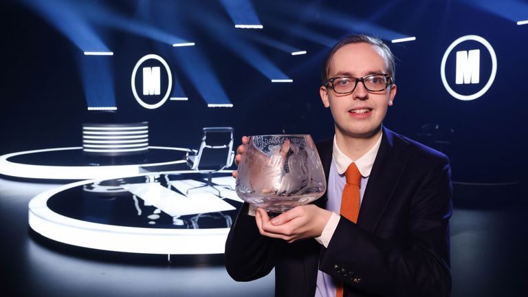 Jonathan Gibson, 24, has become the youngest winner of Mastermind