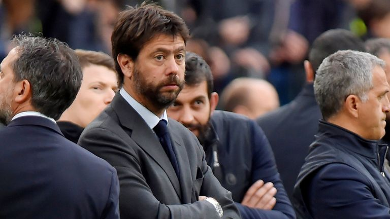 Andrea Agnelli has said that it the Super League can no longer go ahead without the involvement of the English clubs