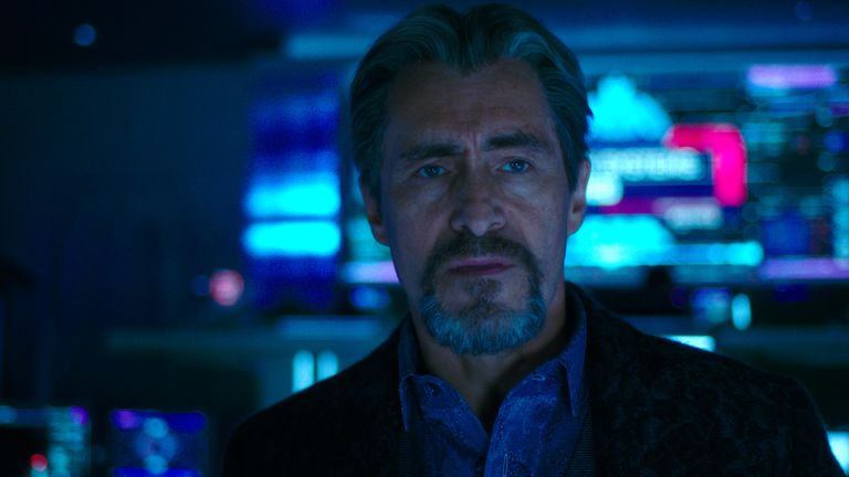 Demian Bichir is the film's human villain. Pic: Warner Bros. Pictures and Legendary Pictures