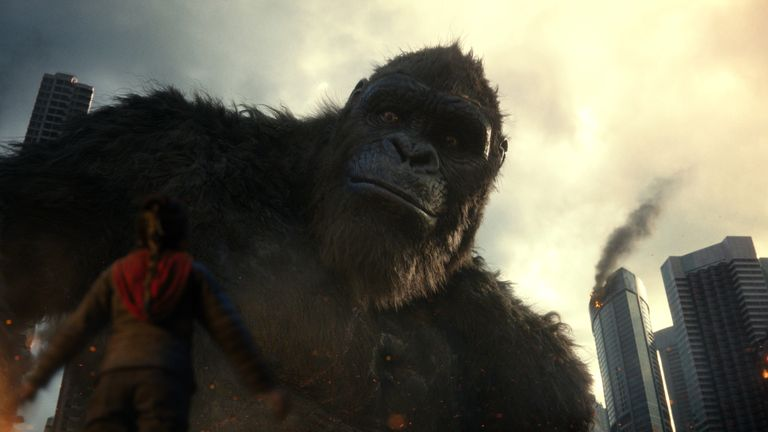 Kong is quite literally one of Hollywood's biggest characters.... Pic: Warner Bros. Pictures and Legendary Pictures