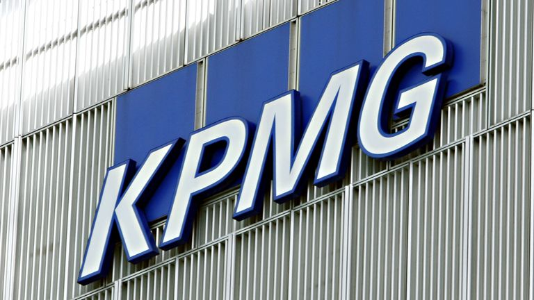 File photo dated 02/08/12 of the KPMG building in Canary Wharf, London.