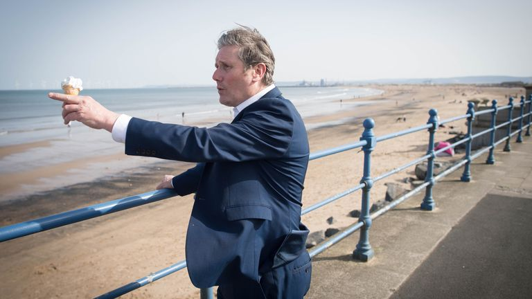 Sir Kier Starmer will be hoping that Labour can hold onto Hartlepool on 6 May