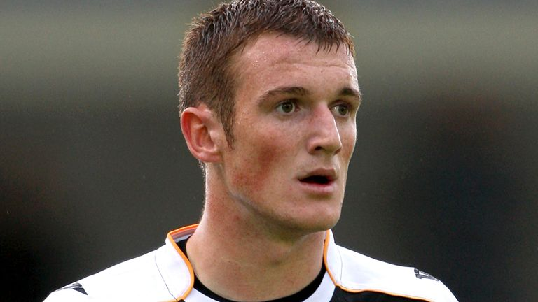 Lee Collins pictured playing for Port Vale in July 2009