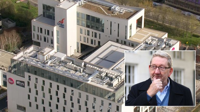 Unite's Len McCluskey is facing calls for an inquiry into the spiralling cost of the hotel