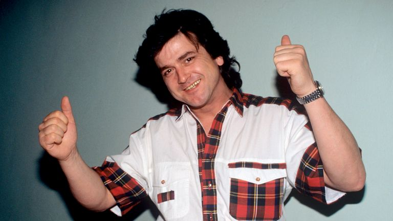 Les McKeown seen in 1992. Pic: AP