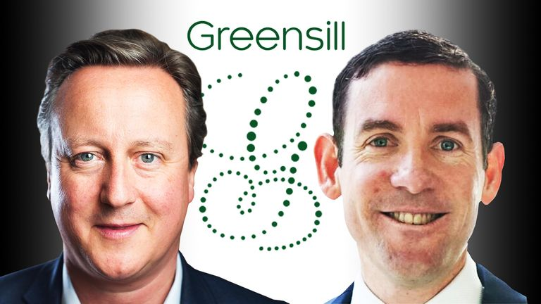 David Cameron joined Lex Greensill's finance firm in 2018