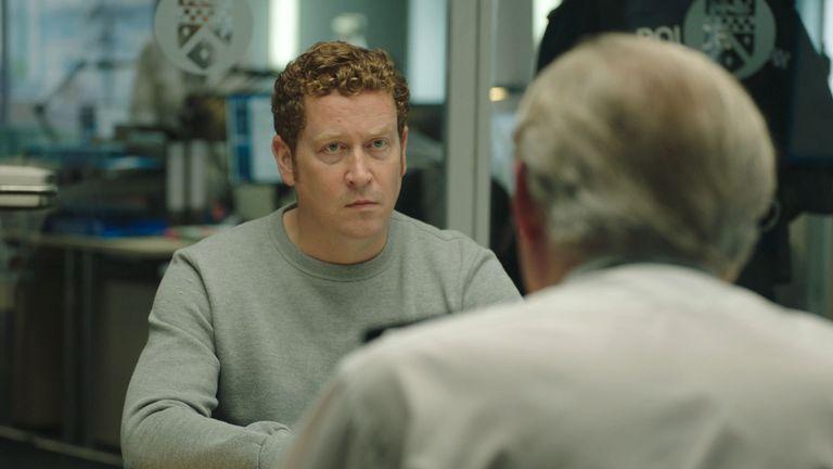 نایجل بویل در نقش DCI Ian Buckells در Line Of Duty.  عکس: BBC / World Productions / Steffan Hill