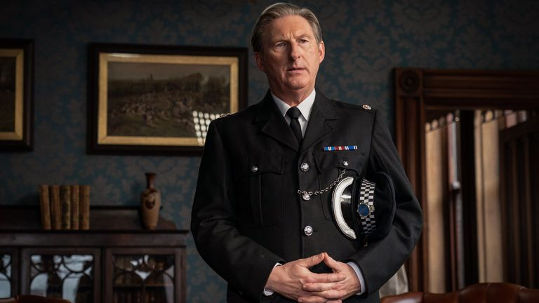 Adrian Dunbar as Superintendent Ted Hastings in Line Of Duty. Pic: BBC/World Productions/Steffan Hill