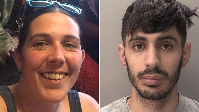 Lorraine Cox and Azam Mangori. Pics: Devon and Cornwall Police