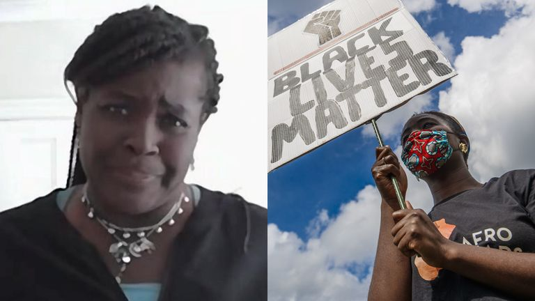 Dr Maggie Aderin-Pocock (left) has dismissed critics who say a racism report she authored put a 'positive spin' on slavery