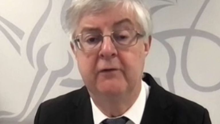 Mark Drakeford says that Wales can relax some restrictions two weeks earlier than planned