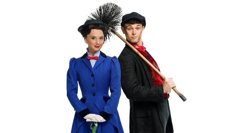 Mary Poppins will reopen in August. Pic: Cameron Mackintosh