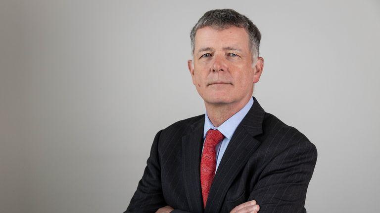 Richard Moore tweeted the job advert for  MI6's new 'Q'