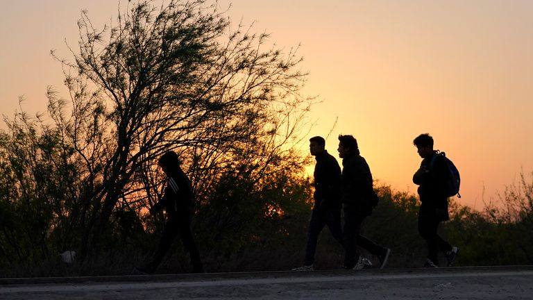 Thousands have travelled to the US in the hope of a better life, fleeing persecution, poverty and violence. File pic: AP
