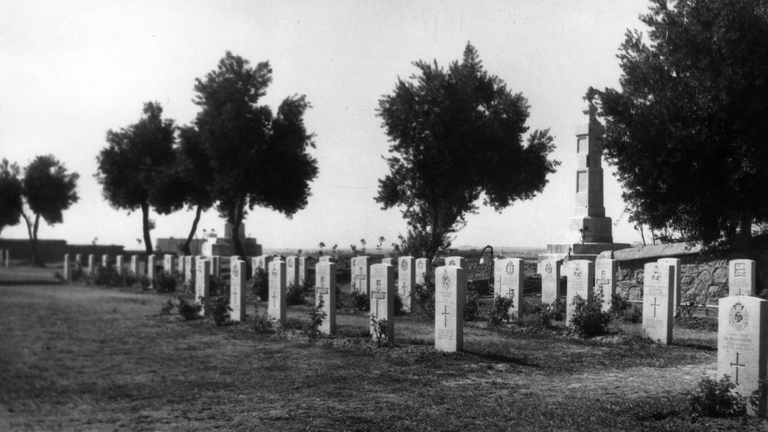 Mosul War Cemetery in Iraq in 1965. Pic: Commonwealth War Graves Commission