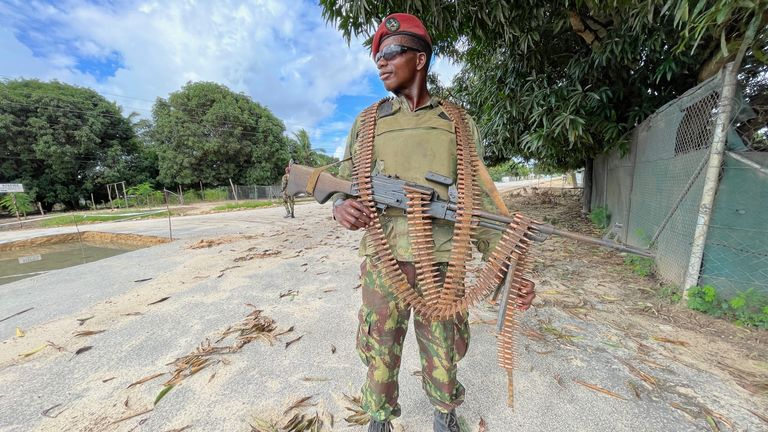 Special forces in Mozambique