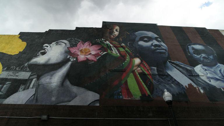 نقاشی دیواری در بالتیمور
