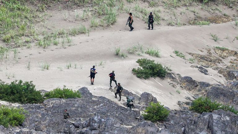 Rebel forces and Myanmar's junta has intesified