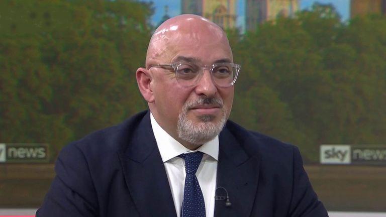 Le ministre des Vaccins Nadhim Zahawi