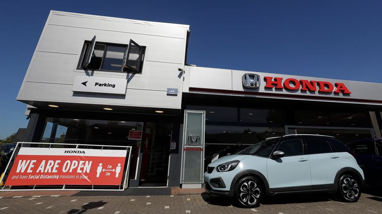 Demand for new cars, already weak before the crisis, has been tempered further by lockdown restrictions. Pic: AP