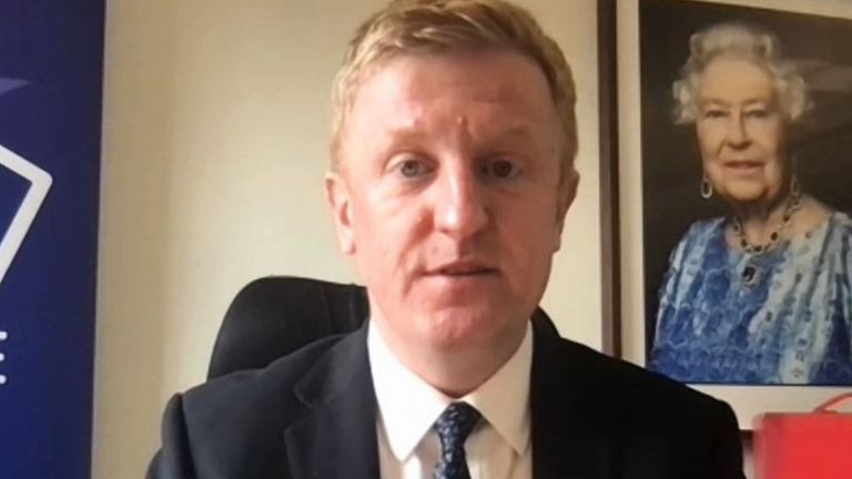 Oliver Dowden says he is happy that the fans had their say in stopping clubs joining the Super League