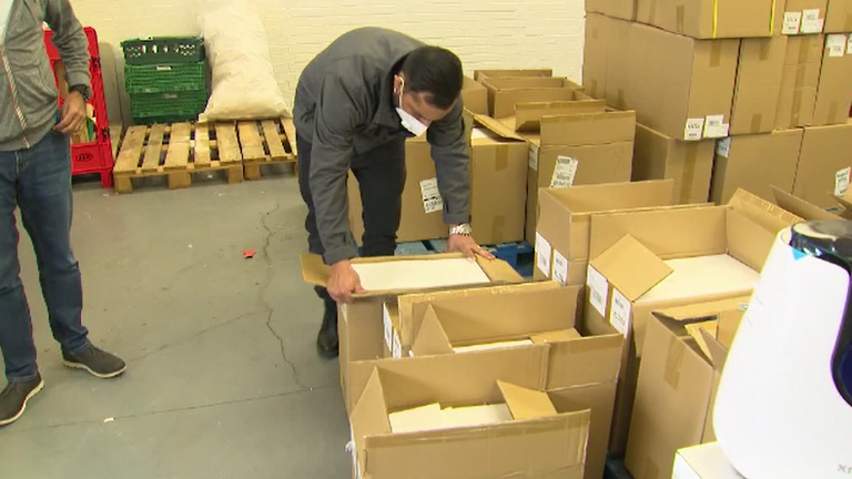 Oxygen concentrators donated to Khalsa Aid