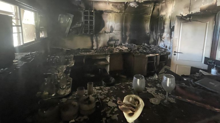 Another hotel in Palma was burnt by looters
