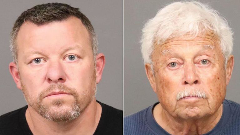 Paul and Ruben Flores (right) have been arrested. Pic: San Luis Obispo Sheriff's Office/Facebook