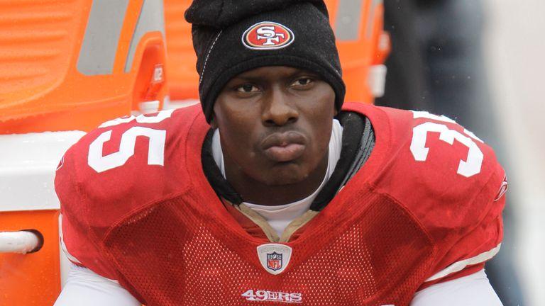 San Francisco 49ers cornerback Phillip Adams (35) during the first quarter of an NFL football game in San Francisco, Sunday, Oct. 17, 2010. (AP Photo/Paul Sakuma)