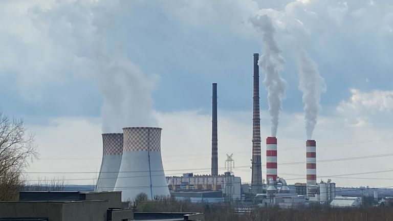 The Belchatow has been named the biggest polluter in Europe