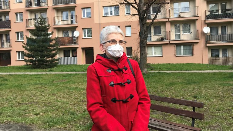 Joanna Bulandra, who has lived in Rybnik for 40 years, says doctors won't diagnose smog as the cause of her illnesses